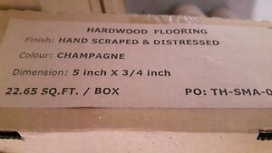 Hardwood Hand Scraped & Distressed in sealed boxes