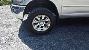 20 inch rims on 35 inch BF KO2 tires