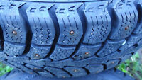 185/60/R15 Studded Winter tires