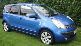 Nissan Note 1.6 16v auto SVE - BEAUTIFUL AUTOMATIC EXAMPLE