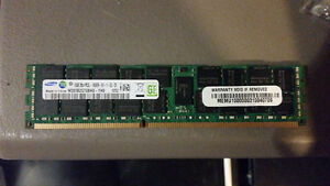 16gb DDR3 Server memory RDIMM - 7 available