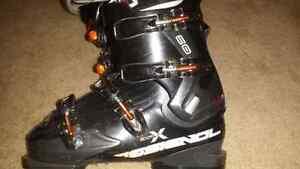 rossignol exalt x 60 - 28.5 cm down hill ski boots
