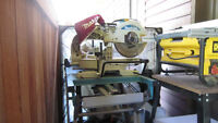 12 inch Makita Mitre saw $350 & bench WST01 $180