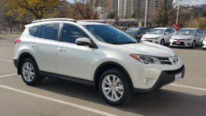 Lease Takeover – 2015 Toyota RAV4 Limited with Technology PKG.