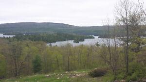 Million dollar view of beautiful lake clear