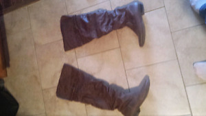 Thigh High Riding Boots Size 8