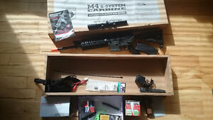 AIRSOFT: M4 S- SYSTEM CARBINE AUTOMATIC WITH charger