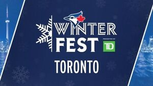 Toronto Blue Jays Winter Fest Tickets Saturday and Sunday