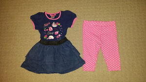 18-24 Month Dress with Matching Capris