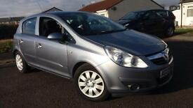 2007 07 VAUXHALL CORSA 1.4i 16V CLUB 5 DOOR.LOW MILES.WARRANTY.FINANCE AVAILABLE