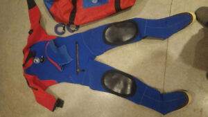 Scuba gear, Brooks Dry suit, tanks, regs and BC,s