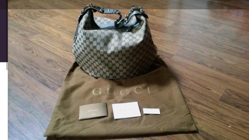 Authentic New Gucci shoulder bag  4e46f11a99463