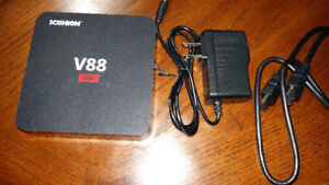 TV Box Android Ultra HD et 4 K