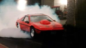 1984 fiero drag car reduced