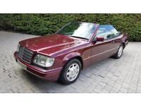 1996 Mercedes-Benz E Class 2.2 E220 Convertible 2dr Petrol Automatic (148