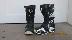 Fox Youth Motorcycle Racing Boots