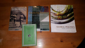Various textbooks (Political Science, Humanities, Anthropology)