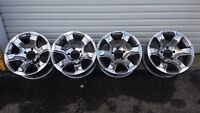 18 inch chrome aluminum rims 18x9 5 x 139.7mm BMW