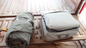 2 NEW CAR COVERS/LARGE SIZE.