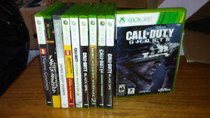 xbox 360 Call of duty collection and more
