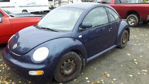 1999 Volkswagen Beetle Coupe