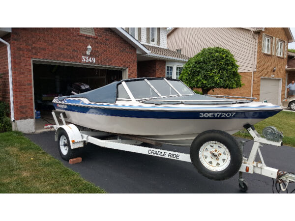 Used 1989 Thunder Craft Boats 16 Foot Thundercraft