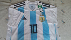 2018 World Cup Argentina #10 Messi Jersey