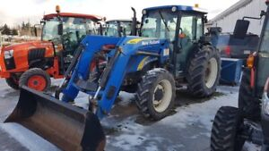 2008 New Holland T4050 Cab Tractor, Loader