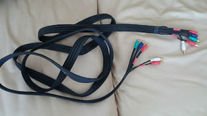 Component Audio Video Cable - $10