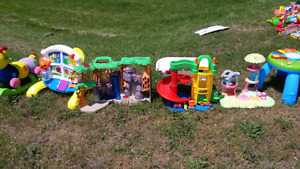 Different kid toys