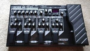 Boss ME-70 Guitar Multiple Effects