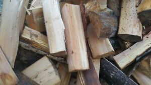 Premium 2-year Seasoned, Triple-Split Alder Firewood
