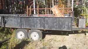 Home Made Dump Trailer $3000 OBO