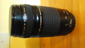 canon 75-300mm zoom lens (new price)