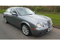 2007 JAGUAR S-TYPE 2.7D V6 AUTO SE, ELECTRIC LEATHER, SAT-NAV,