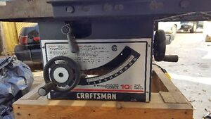 """Craftsman 10"""" Deluxe Flex Drive Table Saw"""