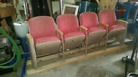 7 - 1940's Theatre Chairs