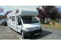 Lunar Roadstar 780 6 Berth Very Low Mileage Family Motorhome For Sale