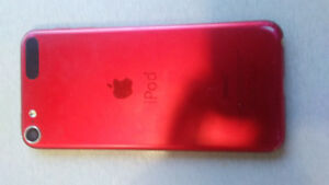 I pod touch for sale for the amount of 200 dollars Red in colour