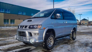 MITSUBISHI DELICA 2003 -TURBO DIESEL- 4WD IN A PERFECT CONDITION