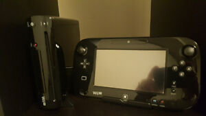 100% MINT CONDITION Wii U Console, with all cables, games, boxes