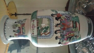 Chinese Table Lamp with Shade