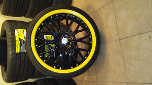 """4 bolt multi pattern 19 """" with 215/35ZR19 tires"""