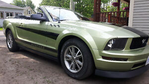 2005 Legend Lime Ford Mustang Convertible