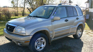 2001 Suzuki Grand Vitara Limited SUV, Crossover