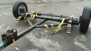 Tow dolly one axle