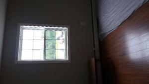 one bedroom in 2-bedroom apartment