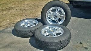 14 inch rims and 195/70R14 summer tires, priced to sell