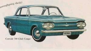 Recherche Chevrolet Corvair