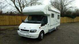 Buccaneer Commodore 4 berth rear U-shaped lounge motorhome for sale